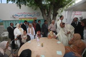 يوم العيد مع المتقاعدين الذين خدموا الوطن طيلة حياتهم