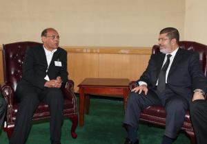 مع الرئيس المصري السابق محمد مرسي