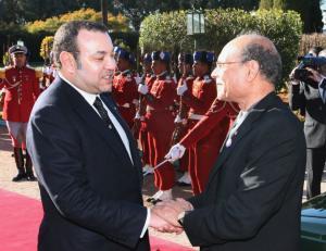مع ملك المغرب محمد السادس