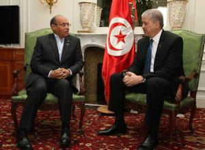 مع الوزير الأول الجزائري عبد المالك سلال